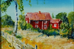 Landhaus auf Gotland
